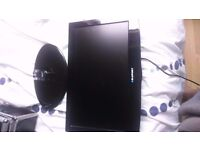 """Blaupunkt B185A54TD 18"""" HD Ready LCD TV DVD Combi With Freeview Black USB Input SPARE OR REPAIRE"""