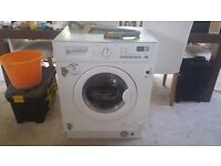 ELECTROLUX EWX12550W INTEGRATED WASHER DRYER (**NOT WORKING** SPARES OR REPAIR**)