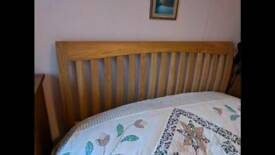 Double bed (no mattress)