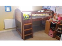 Solid pine cabin bed for sale £50 ono