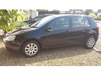 VW GOLF MK5 1.9 TDI MANUAL BLACK 12 MONTHS MOT