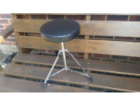 Musicians stool foldaway padded top.