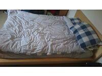 FREE - IKEA King Size Bed & Mattress