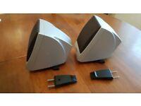 yamaha trs-ms04 satelite speakers fits tyros 1-5