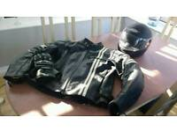 Full Motorcycle Gear (Jacket, Helmet and Gloves) £110 ONO