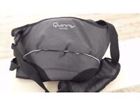 Quinny Curbb Hip Soft Carrier Black in a very good condition
