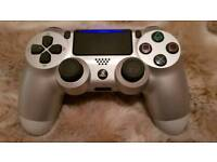 dualshock 4 limited edition silver
