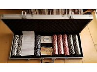 Poker Set in New Condition