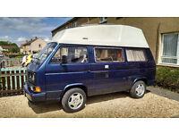 VW T25 Transporter high top camper 1.6td 12 months MOT
