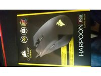 Brand New Corsair Harpoon Gaming Mouse