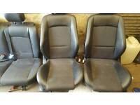 2003 ford focus 3 door half leather seats
