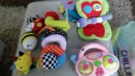 Selection of Baby Toys.