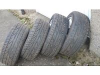 Minted BMW alloys with all same tyres 225/50 16