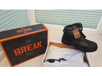 Mens Safety Boots Size 10