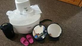 Tommee Tippee steriliser and bottle warmer
