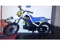 Pw 80 not rm kx cr yz motocross bike