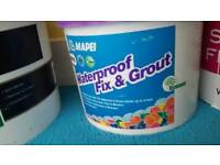 New! Mapei fix and grout 7.5kg