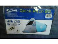 NEW GELERT QUICK PITCH SS 2 BERTH TENT POP UP