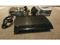 Playstation3 Super-Slim console plus games bundle