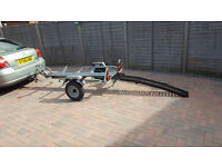 Single Bike trailer hire. 19.99/day