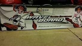 Wave Board skateboard with bag. Good condition