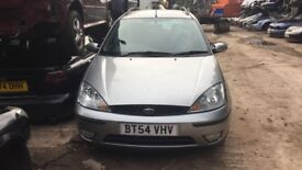 2004 Ford Focus Zetec 5dr 1.8 Petrol Silver BREAKING FOR SPARES