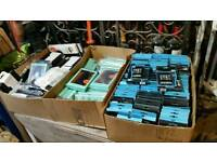 Job lot of phone and tablet cases (10 boxes, hundreds of items)