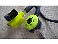 Set of diving air regulators( US diver Aqua lung not included)