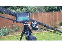 Camera Crane / Jib operator / weddings or events