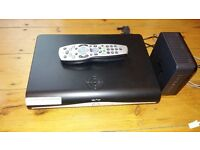 SKY HD box and Router - Battersea