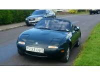 MX5 Monza British Racing Green