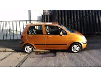 2002 DAEWOO MATIZ SE PLUS 800CC PETROL 5 DOOR HATCHBACK GOLD 1 PREVIOUS OWNER 2 KEYS MOT AUG 2017