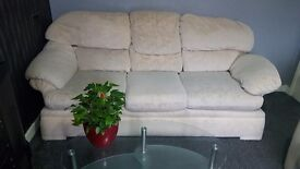 2 and 3 seater sofa good condition .