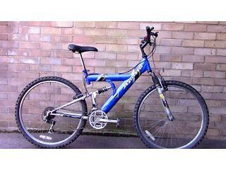 Ayrton's Bike Repairs- Blue Apollo MTB