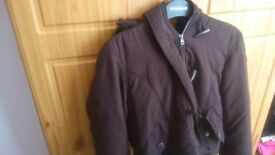 SHORT BROWN WINTER JACKET