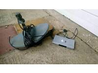 Free sat dish and digital satellite receiver