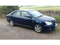 TOYOTA AVENSIS 2.0 T3-X 5 DOOR HATCHBACK PETROL MANUAL 05 reg