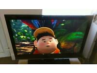 42 inch LG HD TV with remote