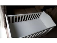 Mothercare Cot Bed and Pocket Sprung Mattress