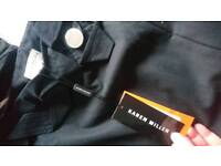 Karan Miller fishtail skirt