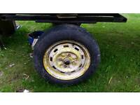 "Wanted! Ford 13"" Steel Wheels x 2"