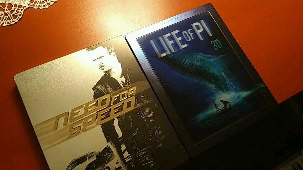 Need for speed + Life of Pi collector's edition