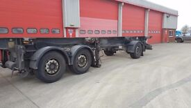 raven splitter skelly trailer ,in good working order good tyres and full mot 2006 model