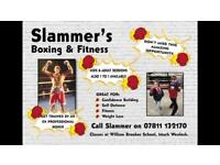Boxing and fitness class