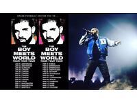 Drake The Boy Meets World Tour- 3x standing tickets (Birmingham)