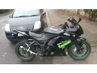 Kawasaki ex250 ninja