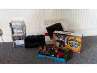 120GB PS3 incl 4 controllers, ear piece, leads and 20+ games
