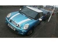 2004/54 blue mini cooper