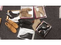 Mixed joblot clearance wholesale womens ladies shoes boots heels trainers