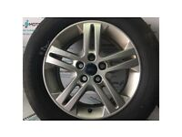 FORD GALAXY MK3 2010-2015 ALLOY WHEEL R16 WITH 4.8 MM TYRE ND60-4